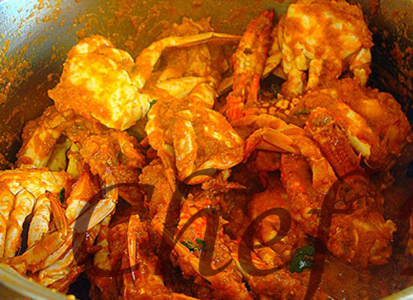 how to cook crabs chef