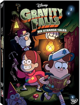 Movie Releases: Disney's Gravity Falls Six Strange Tales on DVD