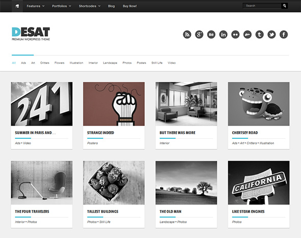 Desat Responsive WordPress Theme