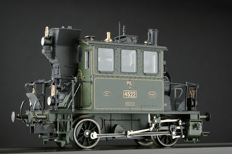 Modeli parnih lokomotiva DRG T22706-Ra