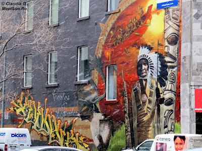 graffti in Montreal