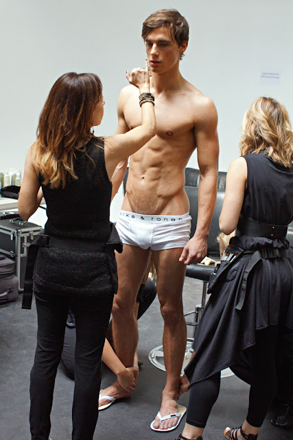 Image result for male model backstage