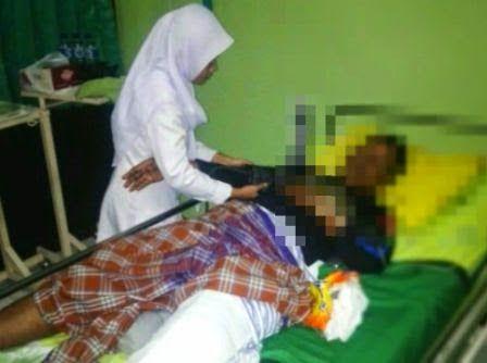Berita dan Foto tentang peristiwa pembacokan warga Tempuran Ngawi