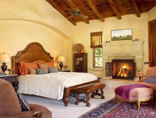 Thiết kế phòng ngủ kiểu Âu cho mùa thu đông ấm áp-2