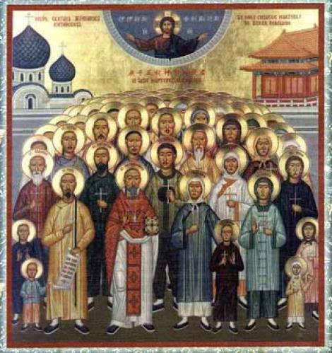The Holy New Martyrs Of China 1900