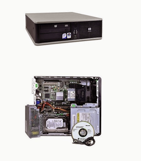 HP Compaq DC5800 Small Form Factor Xác case HP Compaq dc5800 Small Form Factor PC