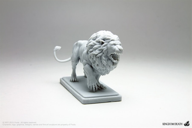 kingdom death monster white lion