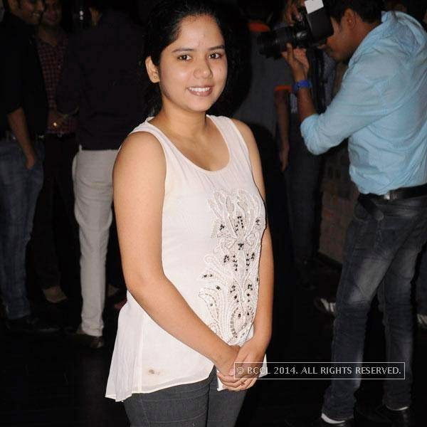 Aditi Arbat during Dr Sameer Arbat's success party at Hotel Travotel in Nagpur.