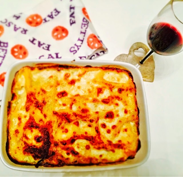 Roasted Butternut Squash and Goats Cheese Lasagne The Betty Stamp