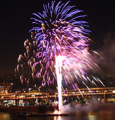 4th of July portland fireworks