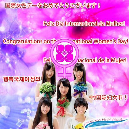Momoiro Clover Z - Feliz Dia Internacional da Mulher!
