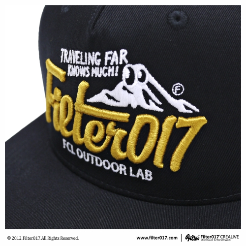 *Filter017 OUTDOOR LAB LOGO WORK CAP:山形標誌工作帽 ! 6