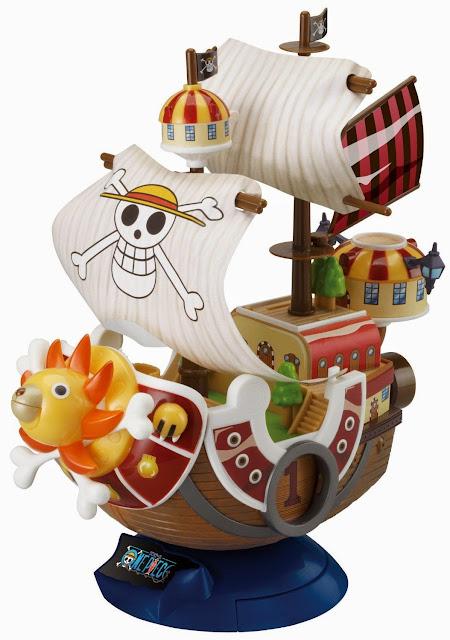 Mô hình One Piece - Southand Sunny với những mảnh ghép lớn, dễ dàng nhận biết và lắp ráp