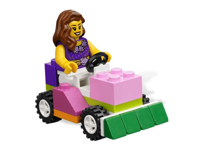 レゴ 基本セット・ピンクのコンテナ 4625