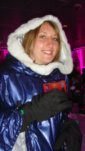 Heather Robinette at the Ice Bar, London. #StudyAbroadBecause the world awaits you