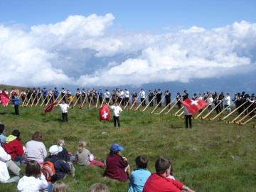 Festival Cor des Alpes - Nendaz 2007 - Morceau d'ensemble