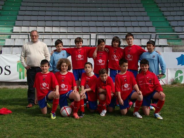 Alevíns Numancia de Ares. II Torneo Delegación de Ferrol. A Malata 12/05/13.