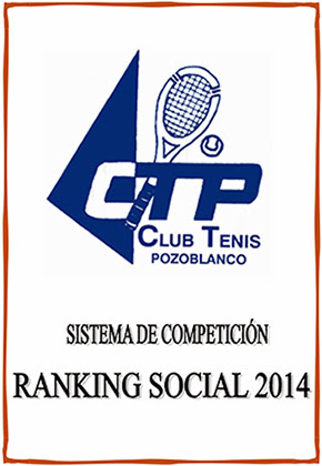 Ranking 2014 Club Tenis Pozoblanco