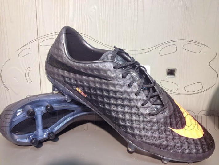 Hypervenom boots black/orange 2013