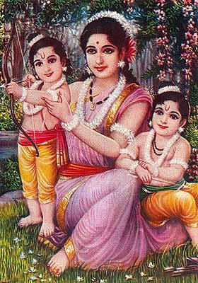 Goddess Sita Image