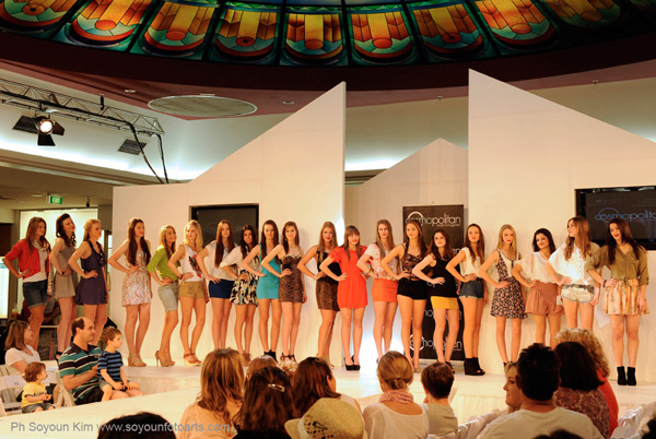 Cosmopolitan Model Search St Ives Sydney, all the contestants