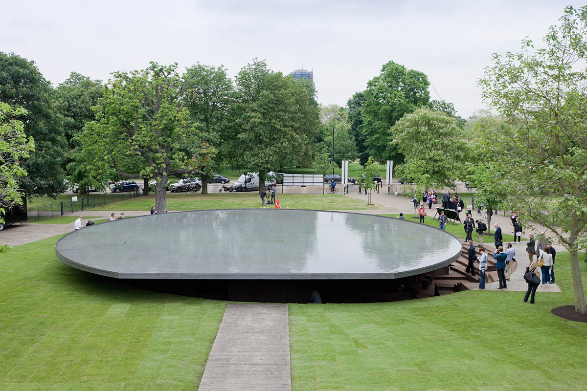 Serpentine Gallery Pavilion design by Herzog and de Meuron and Ai Weiwei