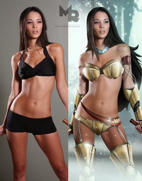 Sexy Warrior Princesses 4