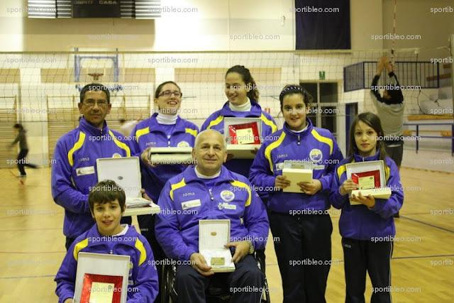Il gruppo dei vincitori dell'assocazione Arcieri Mediterranei