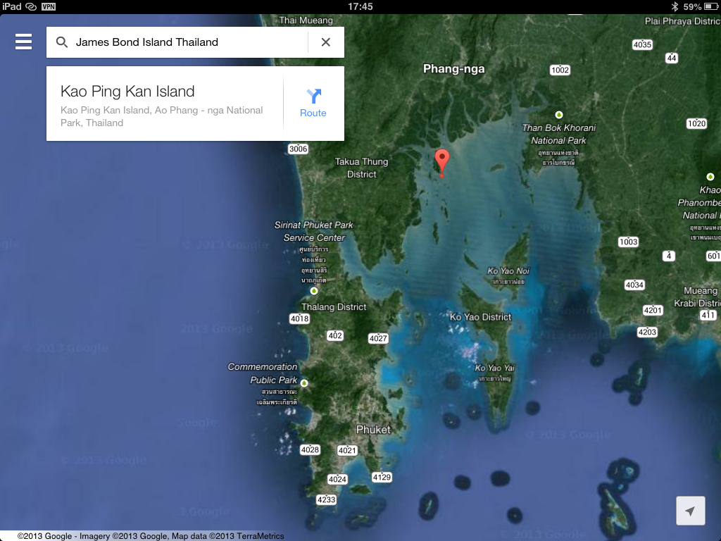Where Is James Bond Island Located On The Thai Map - Where is thailand located