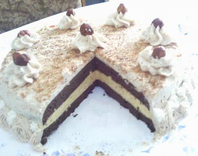 Le gâteau aux noisettes - recette indexée dans la rubrique Desserts