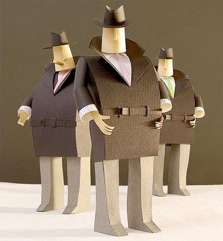 уникални 3д фигури от хартия