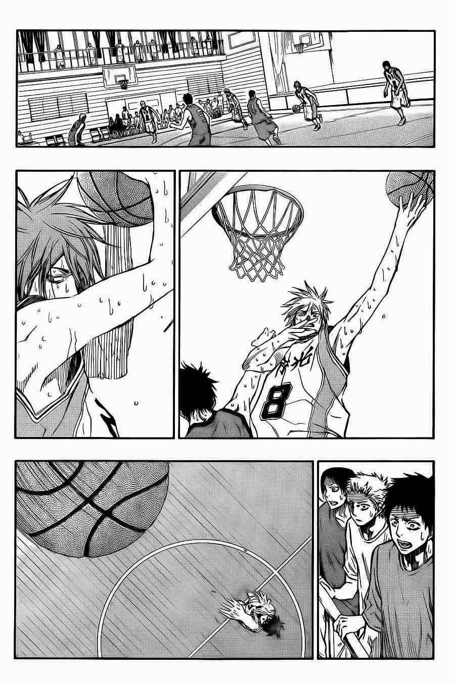 Kuroko no Basket Manga Chapter 223 - Image 08