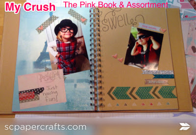 My Crush Book - The Pink Book & Assortment - Close to my Heart
