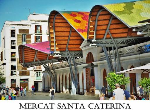 Mercat Santa Caterina. From Six Secrets of Barcelona