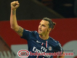 Zlatan Ibrahimovic PSG Paris Saint German