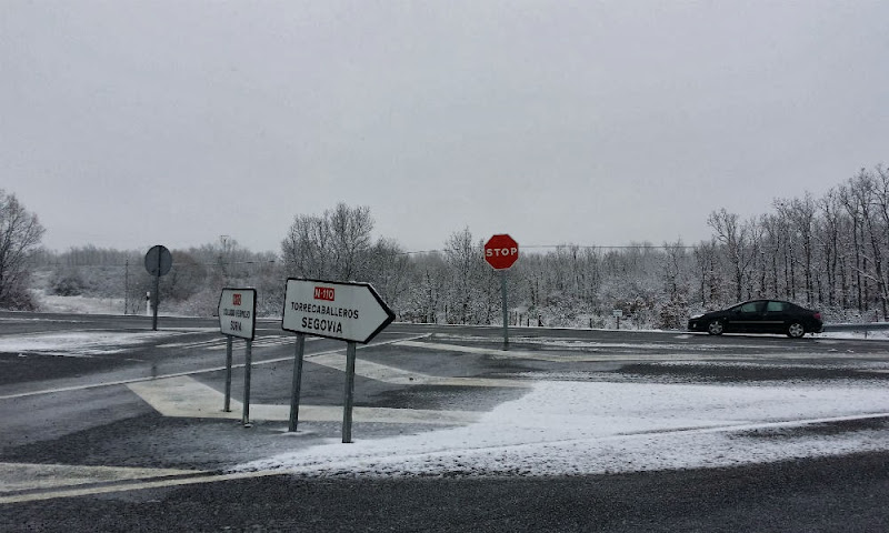 Nieve en Sotosalbos