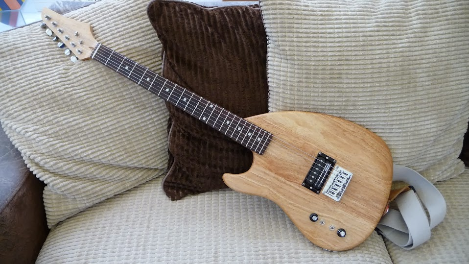 not bad for four weeks work, but what happened to her big sister, estelle?  that's another story and there's enough for another project guitar blog  series