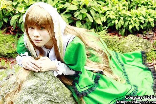 rozen maiden cosplay - suiseiseki