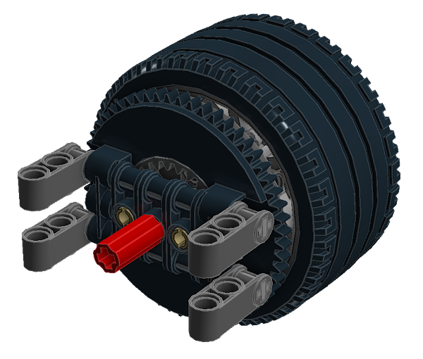 Planetary Geared Wheel 10B