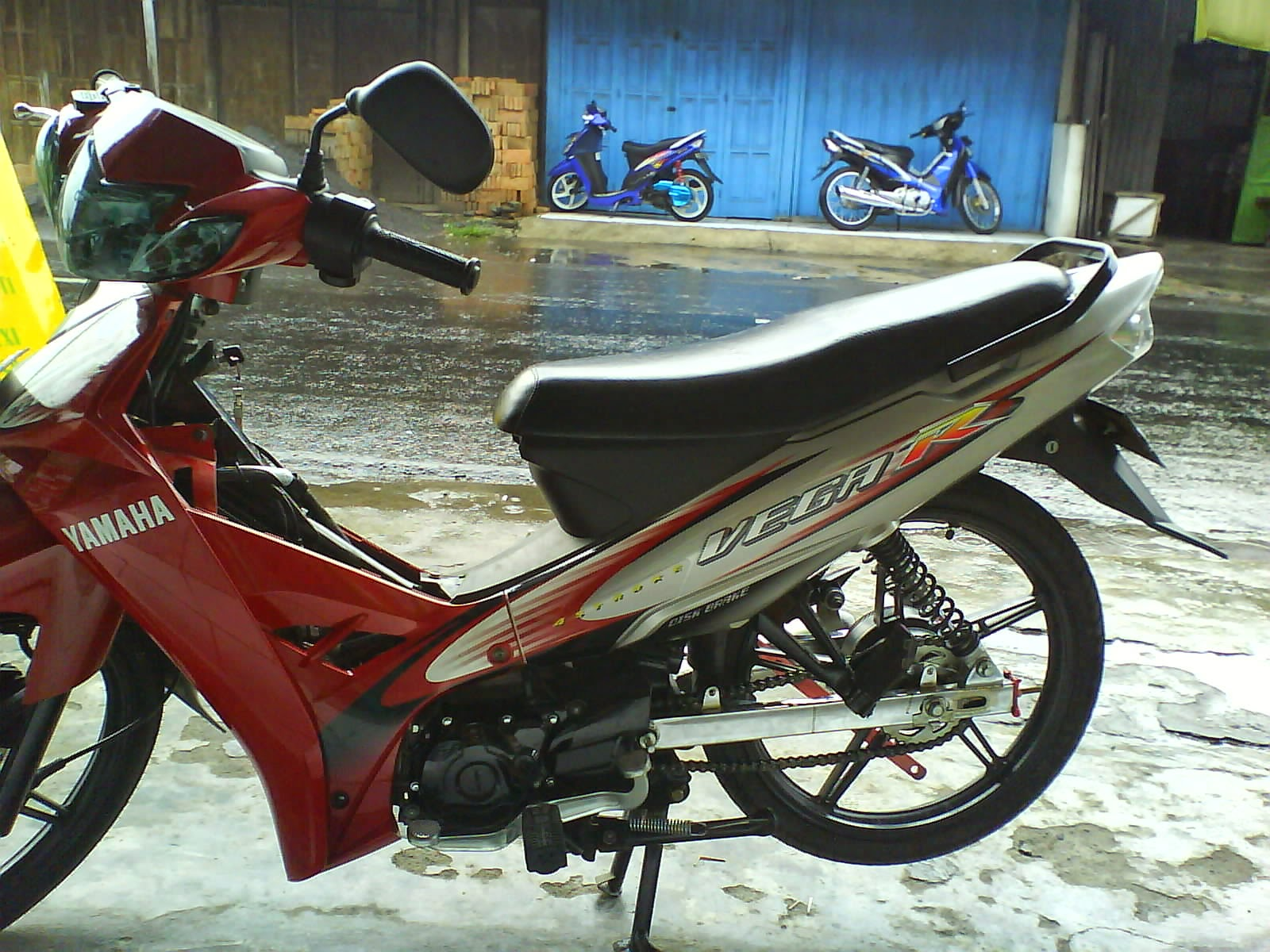 New Jupiter Z Modifikasi Touring