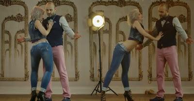 Rui Unas dança kizomba com Sara López ao som de Tarraxo Bem Bom (com Carolina Torres)
