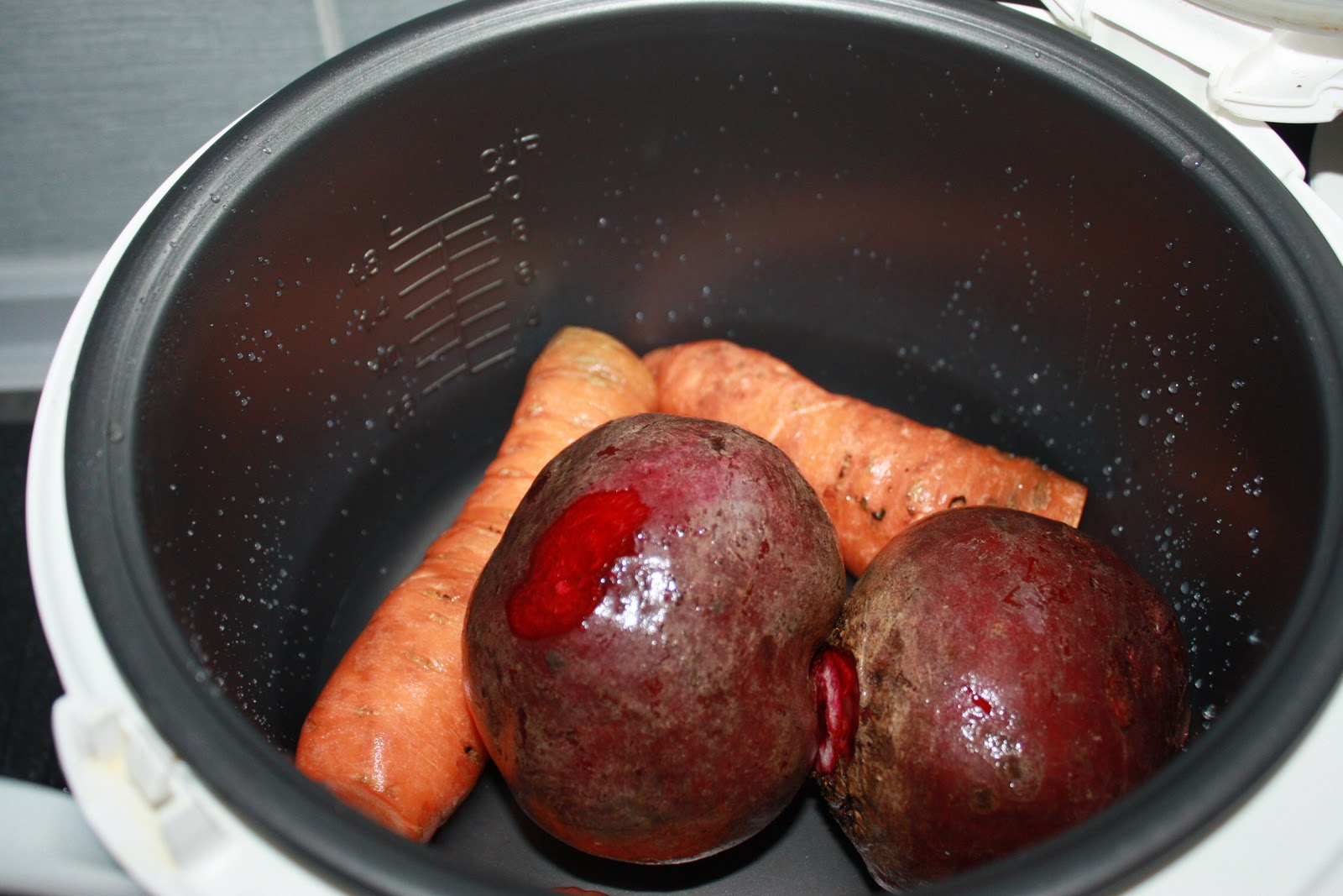 Запечь овощи в мультиварке