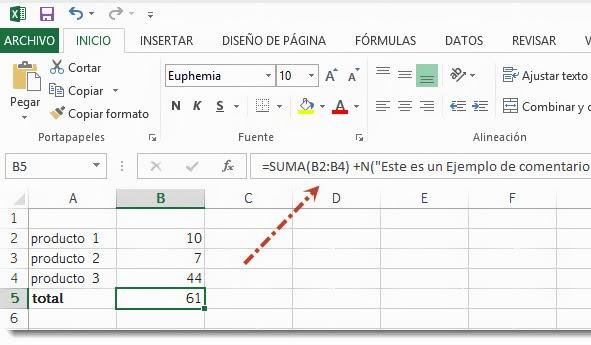 2 Formas de Agregar Comentarios en Excel 2013   Formulas y Celdas ...