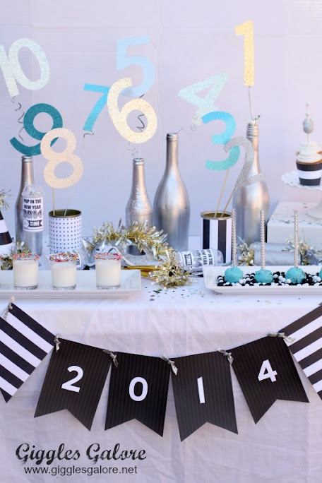 Kids-Friendly NYE Party Idea by Mariah Leeson