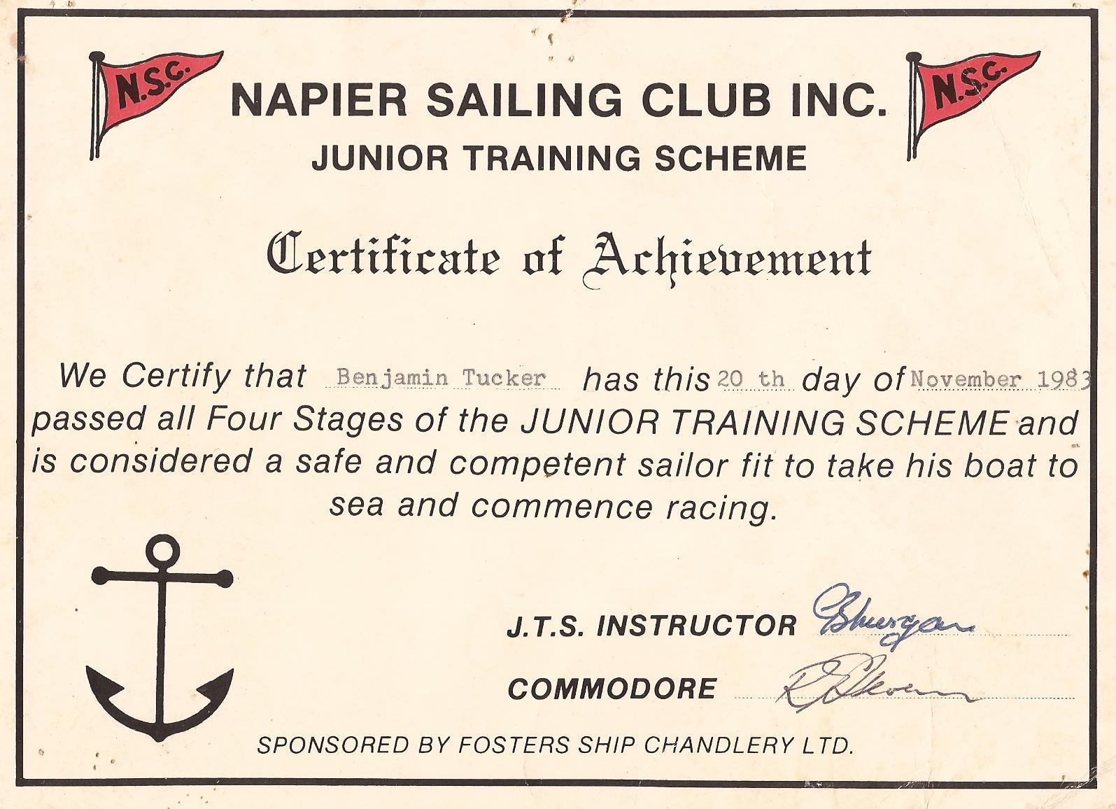 Snowpetrel Sailing March 2011