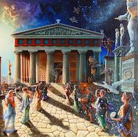 Ελληνικός ναός, μαντεία και προφητείες, Δελφοί,μαντεία Ελλάδος,ιερατεία,Greek temple, oracles and prophecies, Delphi, Greece divination, priesthoods.