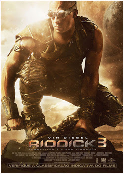6 - Riddick 3 – WEBRip AVI + RMVB Legendado