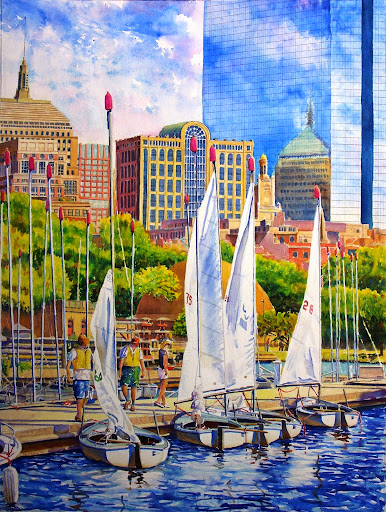 City sailing II. Artist of the Month: Paul McMahan