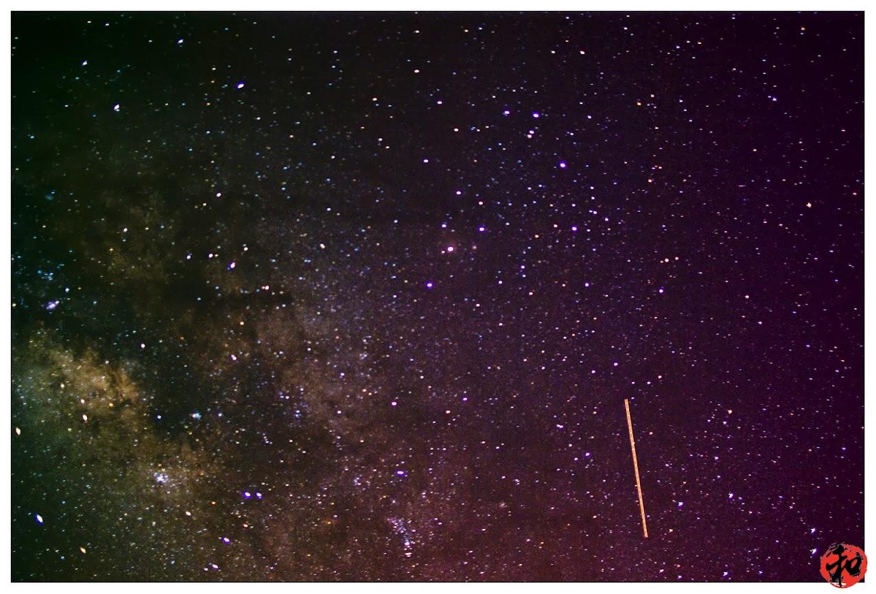 下班衝衝衝~初拍銀河