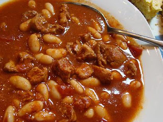easy pork and three bean chili recipes dishmaps easy pork and three ...